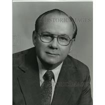 1984 Press Photo J Martin Emerson American Federation of Musicians Sec-Treasurer