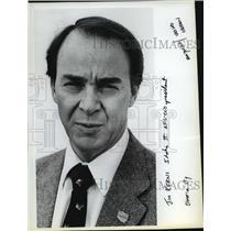 1984 Press Photo Jim Kerns, Idaho State AFL-CIO President - spa67991