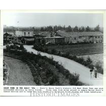 1981 Press Photo Knott's Berry Farm's historic Old West Ghost Town - spa68116