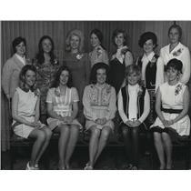 1972 Press Photo Provisional members of Junior League of Spokane - spa69083