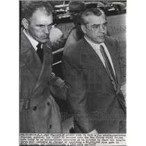 1951 Press Photo Convicted big-time gambler Joe Adonis escorted to NJ prison