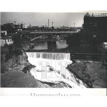 1930 Press Photo Spokane Washington Dam - spa72272