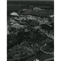 1981 Press Photo Aerial view of the Walt Disney World Resort complex - spa75155