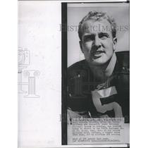 1961 Press Photo Green Bay Packers football's Paul Hornung to serve military