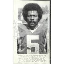 1973 Press Photo L.A. Rams football player, Dick Gordon, new Green Packers