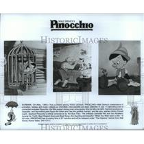 1985 Press Photo Scenes from Walt Disney's animated classic, Pinocchio.