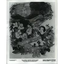 1975 Press Photo A scene from Walt Disney's Snow White and the Seven Dwarfs.
