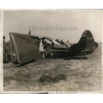 1922 Press Photo PILOT KILLED PASSENGER INJURED IN PLANE CRASH NYC - neny23348
