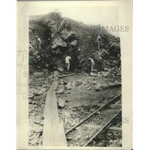1930 Press Photo Mining puts where American miners were captured by Sandino