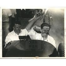 1933 Press Photo Phil Shafer Victor of Elgin, IL Free for all Race - sbs06921