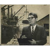 1969 Press Photo Port of New Orleans - Paul Atkinson - noa17549