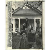 1969 Press Photo Mid Town Alliance - Members at Headquarters, Atlanta, Georgia
