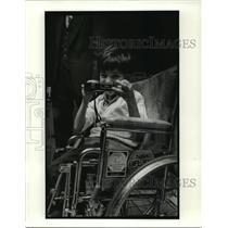 1980 Press Photo Muscular Dystrophy Association - Rocky Arizzi - noa19804