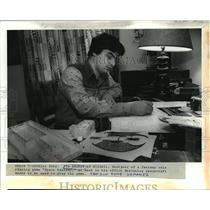 """1982 Press Photo Jim Archer, Designer of Role Playing Game """"Space Fantasy"""""""