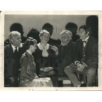 "1931 Press Photo Phillips Lord and cast of ""Way Back Home"" - sbx03164"