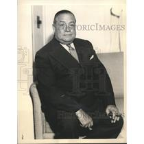 1933 Press Photo George McManus Creator of Jiggs And Maggie  - sbx03212