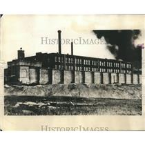 1930 Press Photo Missouri State Penitentiary at Jefferson City Food Riot
