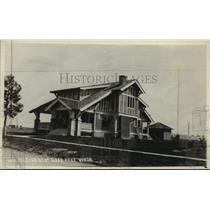 1928 Press Photo Post Card - Residence, Deer Park, Washington - spx19035