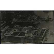 1930 Press Photo Aerial view of Annapolis, Maryland - spx19061
