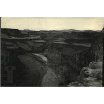 1929 Press Photo Palouse River Canyon, looking south from falls - spx19091