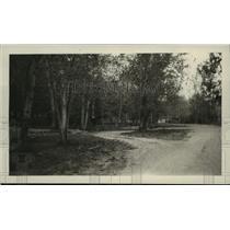 1935 Press Photo Dirt road, Asotin Park, Idaho - spx19434