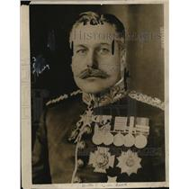 1916 Press Photo General Haig of France Commanded WWI Battle of the Somme