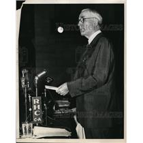 1940 Press Photo Secretary of State Cordell Hull Speaking During First Session