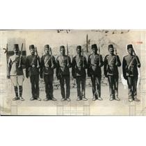 1923 Press Photo Egyptian Army Soldiers - nem35147
