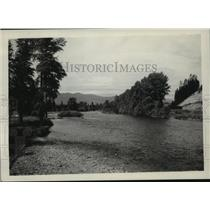 1941 Press Photo Yakima River, Near Cle Elum - spx19333