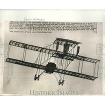 1964 Press Photo Reproduction of a Bristol Box Kite Plane Near London