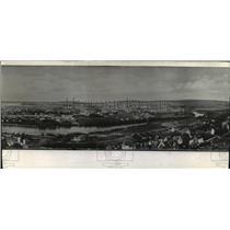 1940 Press Photo Norwegian city of Trondheim is held by the Germans - mja76721