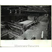 1986 Press Photo New Papermaking Machine at Consolidated Papers, Inc. Wisconsin