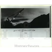 1932 Press Photo Dragline Crane at San Juan Mine, New Mexico - mja85612