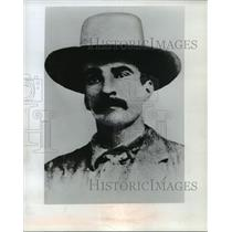 1965 Press Photo Cowboy Scott Cooley circa 1874 - mja86325