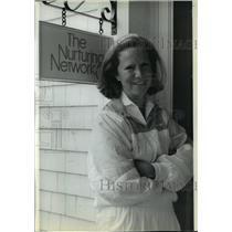 1988 Press Photo Mary Cunningham, Former Bendix Executive of Nurturing Network