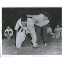 1957 Press Photo Blanche McCreary Ford Motor Company - RRV98631