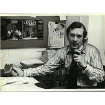 1980 Press Photo British Newspaper Gossip Columnist Nigel Dempster - mja93909