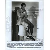 "1990 Press Photo Bill Cosby in ""Ghost Dad"" - mjp07735"