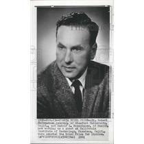 1961 Press Photo Dr Robert Hofstadter,  awarded the Nobel Prize for Physics