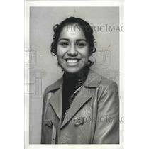 1970 Press Photo Miss Indian America Marjorie Haury of Cheyenne - spa82461