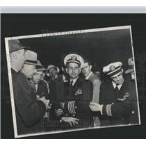 Press Photo Capt. Ahrrom Holds a Press Conference - RRX98963