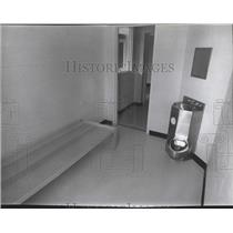 1978 Press Photo Security detention cell at the Pine Lodge Penitentiary, Wash