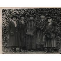 1920 Press Photo Women's Cabinet of Washington, D.C. - nep06843