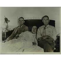1929 Press Photo C.M. Lell, Ben Wells, & C. Saylors in Charlotte, North Carolina