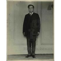 1923 Press Photo John L. Lewis, President United Mine Workers of America (UMW)