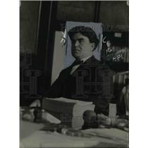 1921 Press Photo John L. Lewis of United Mine Workers of America (UMW)