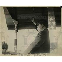 1923 Press Photo John L. Lewis at Fairgrounds - nep08245