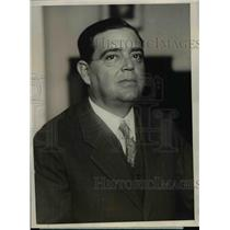 1925 Press Photo Rafael Sanchez Aballi of Cuba, Prospective Ambassador to US
