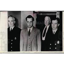 1942 Press Photo Amer Exchange Student Alleged Turned Spy, Herman Friedrich