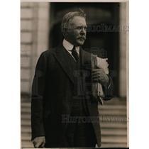 1919 Press Photo Clause Spreckles of NY Sugar Refiner at Senate Sub Committee